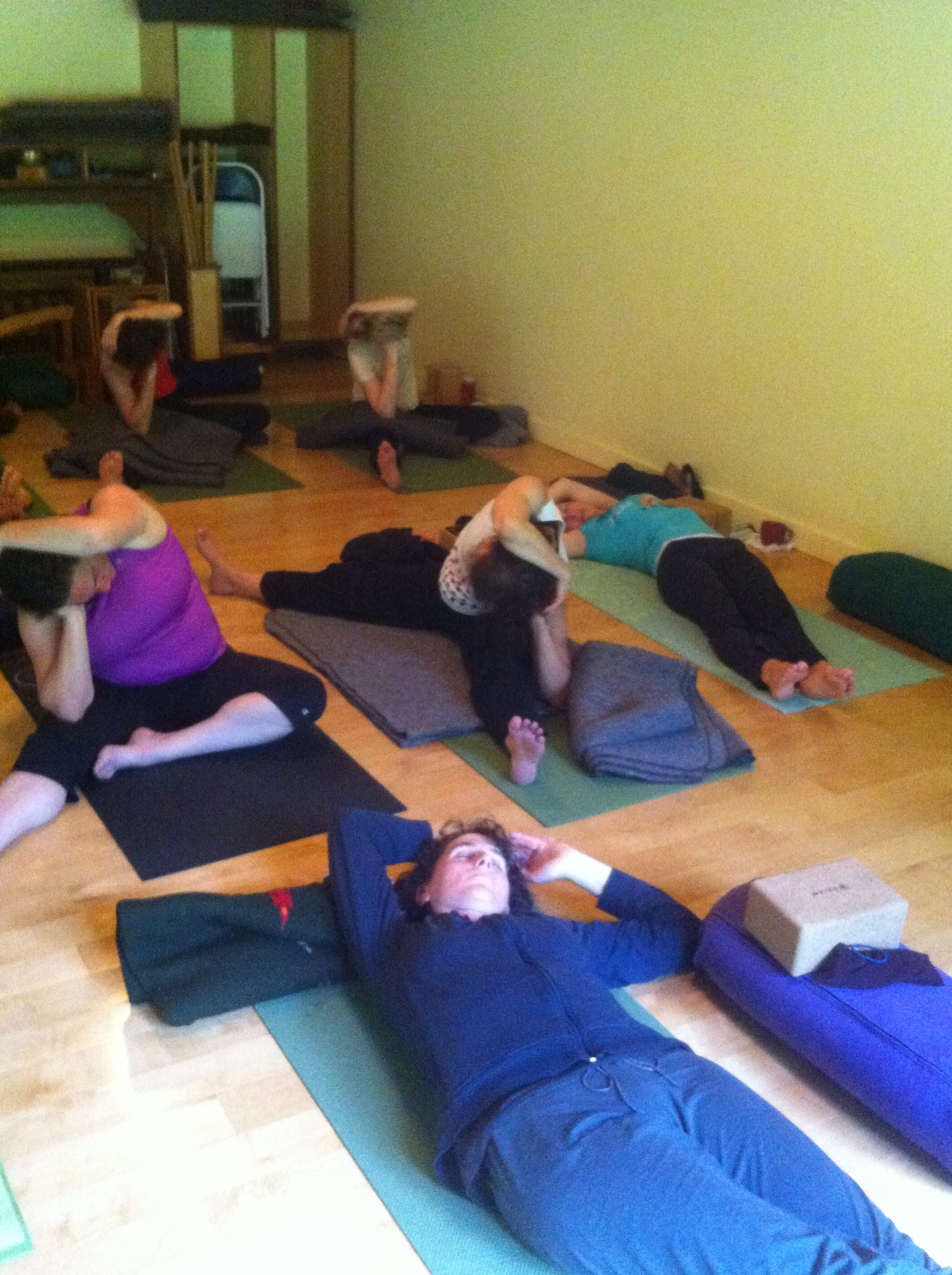 Yin Yoga Embracing Balance Retreat Whidbey Island